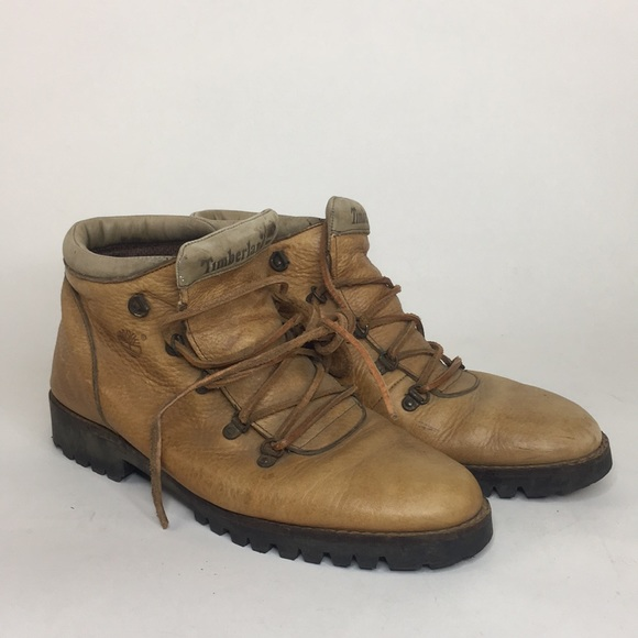 Timberland | Vintage Italian Leather Hiking Boots